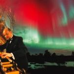 Revontulimyrsky, syyskuu 2002  Northern lights, the great storm, sept. 2002