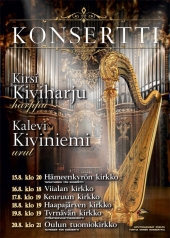 Harppu-urku-kiertueen flyer 2015